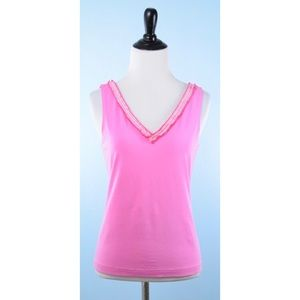 W BY WORTH pink top